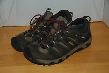 Keen Mens Size 11 Koven Brown Leather Low Hiking Trail Shoes ZF-165