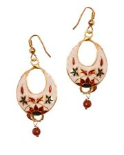 Arabic Mugal Painted Meena Beads Jhumki Jhumka Earring ME11