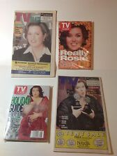 Lot of 4 Different ROSIE O'DONNELL TV Listing Magazines