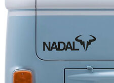 RAFAEL NADAL #1 VINYL DECAL wimbledon Tennis logo sticker camper VW T2 van badge