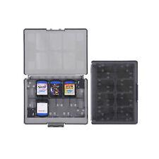 Black 18 in 1 Game & Memory Card Holder Case Storage Box for PS Vita PSV