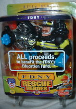BILLY BLAZES RESCUE HEROES FDNY 9/11 ACTION FIGURE FISHER PRICE TOY NEW IN BOX