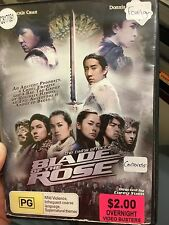 Blade Of The Rose - Twins Effect 2 ex-rental region 4 DVD (2004 Hong Kong film)