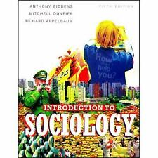 Introduction to Sociology by Anthony Giddens (2005, Paperback, Revised)
