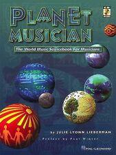 Planet Musician by Julie Lyonn Lieberman Includes CD