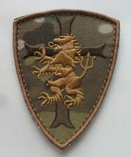Navy seal team 6 Devgru Lion cross crusader shield US Tactical SWAT Velcro Patch