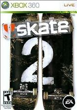 Skate 2 Microsoft Xbox 360 WITH CASE
