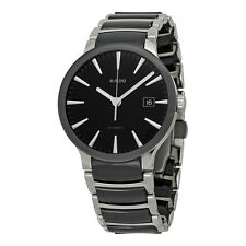 Rado Centrix Black Dial Stainless Steel and Ceramic Mens Watch R30941152