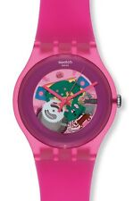 "SWATCH NEW GENT ""PINK LACQUERED"" (SUOP100) NEUWARE"