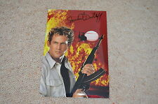 MICHAEL DUDIKOFF signed Autogramm In Person 20x30 cm AMERICAN FIGHTER