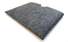 "Samsung Galaxy Tab S2 9.7"" grey felt sleeve wallet cover. Laser cut in the UK."