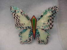 Lea Stein Paris Large Butterfly Pin