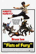 FISTS OF FURY Movie POSTER 27x40 Bruce Lee Maria Yi
