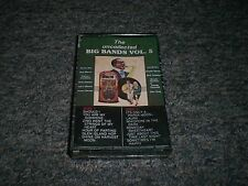 The Uncollected Big Bands Vol. 5~Alvino Rey~Les Brown~SEALED~Cassette~FAST SHIP