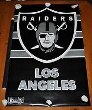 LOS ANGELES RAIDERS LOGO POSTER VERY RARE ONLY ONES LISTED ON ALL OF EBAY