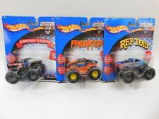 Lot Of 3 Hot Wheels Monster Jam Toy Trucks In Packages Lot 204