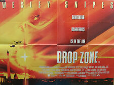 Wesley Snipes  DROP ZONE(1994)Original UK quad cinema poster