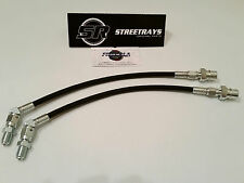 StreetRays Rear Brake Lines Kit For 240SX with 300ZX Z32 Calipers Conversion BLK