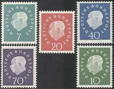 Germany 1959 President Heuss/Politician/Politics/People/Government 5v set n43634