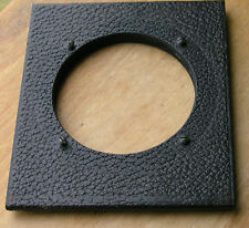 large format reflex camera  Lens board  62.5mm hole 107 x 92