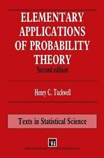 Chapman and Hall/CRC Texts in Statistical Science: Elementary Applications of...