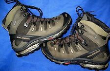 Salomon Quest 4D GTX Men's Size 11 Army Green Waterproof Contagrip Hiking Boots