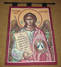 Guardian Angel Inspirational Tapestry Wall Hanging