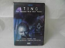Sting: The Brand New Day Tour - Live From the Universal Ampitheatre (DVD, 2000)