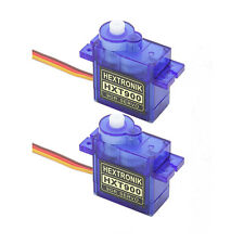 2x GENUINE HEXTRONIK HXT900 9g / 1.6kg / .12sec Micro Servos UK SAME DAY POSTING