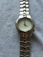 Calvin Hill Gold & Silver Tone Bracelet Band Ladies Quartz Watch