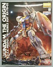 Gundam the origin E.F.S.F prototype Mobile suit rx-78-02 Master Grade MG 1/100 *