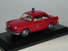 Wiking, VW 1500 / 1600, Berliner Feuerwehr, 1969, 1:40