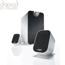 Acoustic Energy AEGO M Subwoofer / Satellite Speaker System package (white) 2.1