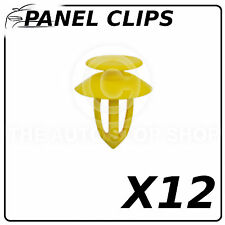 Panel Clips Doors Pannels Vauxhall Astra MK III-MK V Part 12443 Pack of 12