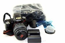 Sony Alpha SLT-A35K 16.2MP Digital SLR Camera - Black (Kit w/ 18-55mm Lens)-Used