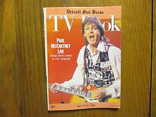 June 13, 1993 Detroit Free Press TV Book/Magazi(PAUL McCARTNEY LIVE/THE BEATLES)