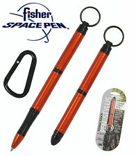 Fisher Space Pen #STT/O - Orange Anodized Tough Touch Pen With Stylus Point
