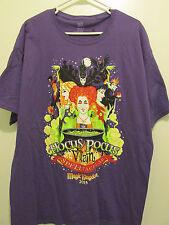2015 Disney Halloween Party Hocus Pocus Villain Spelltacular T Shirt - Medium