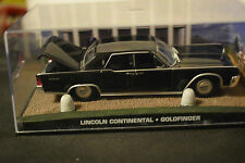 JAMES BOND CARS COLLECTION LINCOLN CONTINENTAL GOLDFINGER