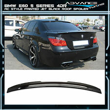 04-10 BMW E60 5-Series AC Style Roof Spoiler OEM Painted Match # 668 Jet Black