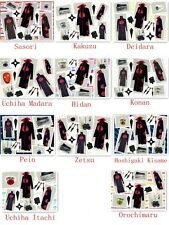 Naruto Akatsuki Cosplay Costume Hidan Uchiha Itachi Madara New whole Set