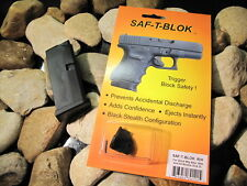 Saf T Blok & Glock 43 Magazine RH CONCEALED CARRY KIT Safety Safe Block Mag 9mm