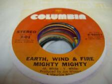 Soul 45 EARTH, WIND, AND FIRE Mighty Mighty on Columbia