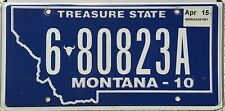 FREE UK POSTAGE American Montana Treasure State USA License Number Plate 680823A