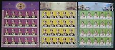 Installation His Majesty YDP Agong XIII Malaysia 2007 King (stamp sheet 3's) MNH