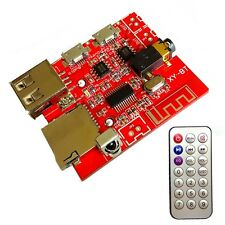 4.1 Bluetooth MP3 Decoding Board Car Speaker Refit Module With Remote Control