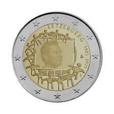 "Luxembourg 2 Euro commemorative coin 2015 ""30 Years of EU Flag"" UNC"