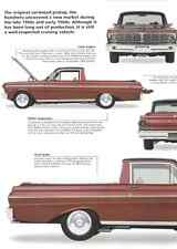 1965 Ford Falcon Ranchero Modified Street Rod Article - Must See !!