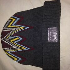 NWT Play Clothes Northern Lights Charcoal Beanie Hat West Coast Karmaloop Fresh