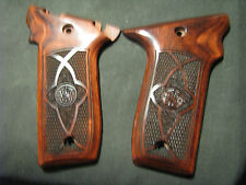 Smith Wesson .22LR VICTORY Chkrd/Stippled Rosewood Pistol Grips w/S&W Logo NEW!